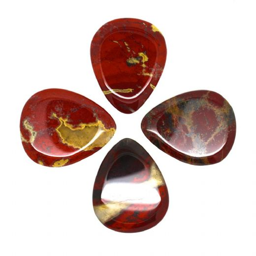 Jasper Tones Rainbow Jasper 4 Guitar Picks